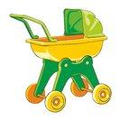 illustration baby-car