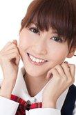 Cute Asian student girl