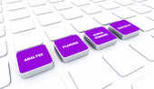 pad concept purple - analysis planning implementation control 5