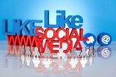 Communication,Internet concept, Social media