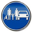 Sign Family and Family Parking