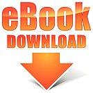 Vector orange ebook icon