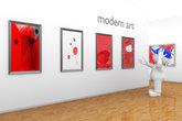exhibition modern art