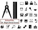 24 Education Icons