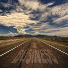 Conceptual Image of Road With the Word Business
