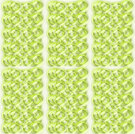 Abstract geometric seamless background. Overlapping gradient circles pattern in light green shades on beige rectangles.