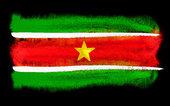 suriname flag illustration