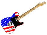 Stars And Stripes Guitar