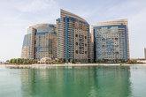Waterfront building in Abu Dhabi