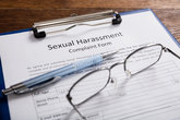 Sexual Harassment Complaint Form With Pen