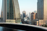 transportation track railway downtown Bangkok cityscape