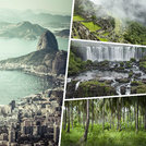 Collage of Most Beautiful and Breathtaking Places in South America - my photos