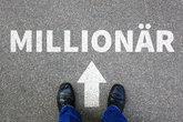 millionaire rich wealth success successful career business man concept businessman