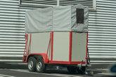 horses transport trailer