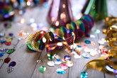 colorful carnival accessories