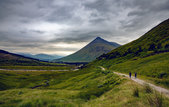 Scotland Highlands Landscape Scenery in Bridge of Orchy Nature Travel