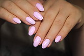Sexual pink manicure