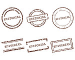 Editorial stamps