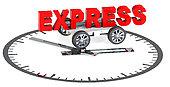 Express Clock transport